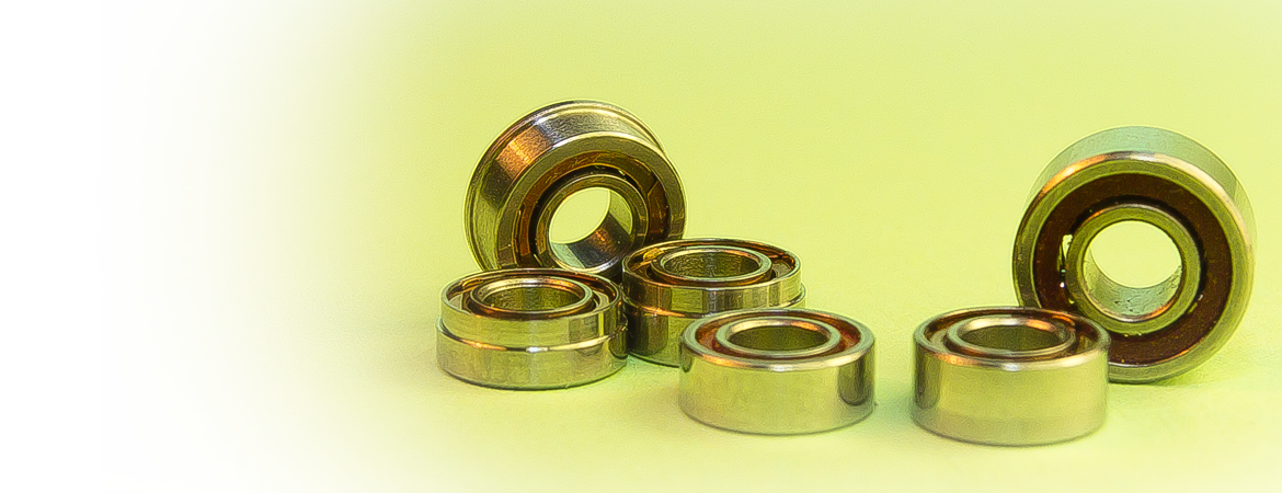 Manufacture of bearings for medical equipment